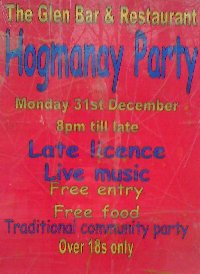 [Hogmanay Party at The Glen Bar, Carradale]
